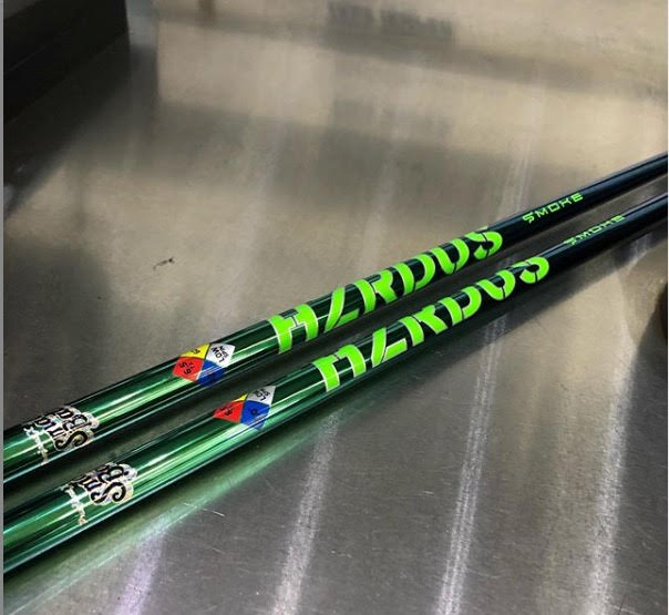"featured image of blog titled ""How to Smash Golf Improvement Barriers with Project X's HZRDUS Smoke Green Shaft"""